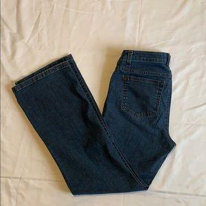 Liz Claiborne Boot Cut Jeans Size 8